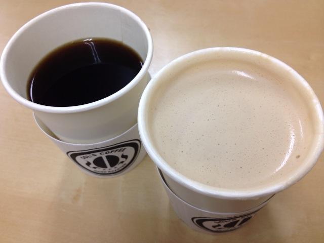 コーヒー&カフェラテ